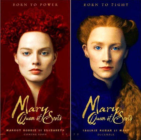 انتشار کاراکتر پوستر های جدید از «ماری، ملکه اسکاتلند»