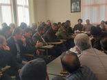برگزاری همایش توجیهی دهیاران و شوراها  برای توسعه محصولات گلخانه ای در شهرستان ورزقان