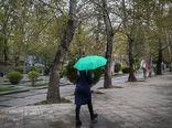 احتمال رگبار پراکنده در شمال تهران