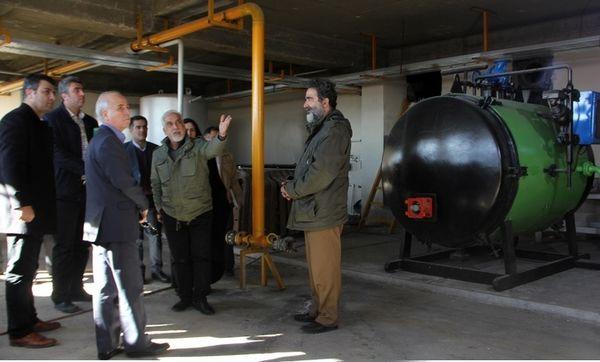 بازدید اعضای کارگروه رفع موانع تولید دماوند از کشتارگاه مرغ نمونه پارس