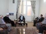 دیدار رئیس سازمان جهاد کشاورزی استان لرستان با امام جمعه شهرستان کوهدشت