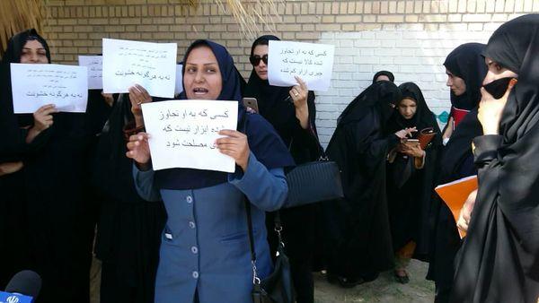 زنان ایرانشهری هم به میدان آمدند