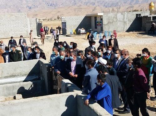 افتتاح طرح پرورش گوسفند داشتی در داراب