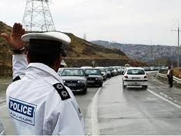 ترافیک سنگین در آزادراه تهران-کرج به دلیل بارندگی