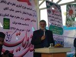 طرح آبیاری قطرهای نخیلات در سطح ۶۸ هکتار افتتاح شد