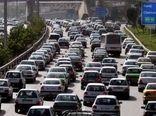 آزادراه تهران-کرج پر ترددترین مسیر کشور