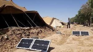 امسال  ۵۸ دستگاه پنل خورشیدی بین خانوارهای عشایری شیروان توزیع شد