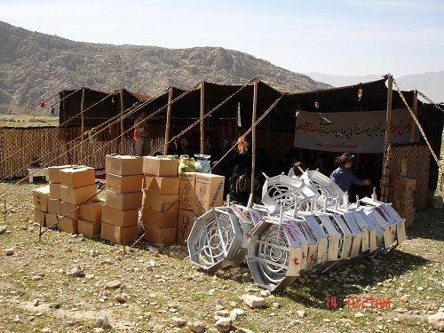 توزیع اقلام سوخت فسیلی در مناطق عشایری فارس