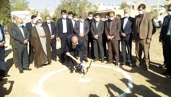 عملیات اجرائی ساخت مجتمع اداری ساختمان جهاد کشاورزی استان کرمان آغاز شد.