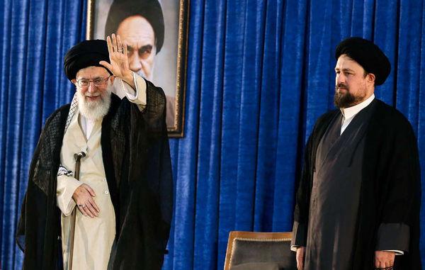 حضور رهبر انقلاب در حرم امام راحل (ره)