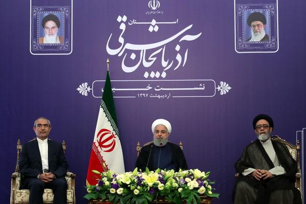روحانی: حرکت در مسیر خودکفایی و توسعه است