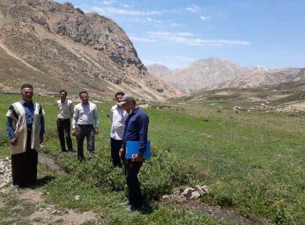 اجرای طرح توسعه باغات دیم در اراضی شیبدار شهرستان کوهرنگ