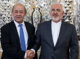 ظریف و وزیر خارجه فرانسه تلفنی گفت وگو کردند