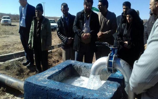 افتتاح طرح  آبیاری کم فشار شهرستان سربیشه در دهه فجر