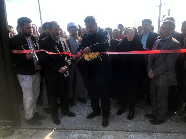 دو طرح آبیاری تحت فشار در شهرستان آبیک  افتتاح و به بهره برداری رسید