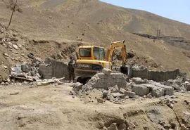 10 هزار و 97 مترمربع از اراضی ملی شمال غرب پایتخت رفع تصرف شد