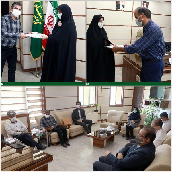 مسوول گروه محیط زیست و سلامت غذا سازمان جهاد کشاورزی استان قزوین منصوب شد