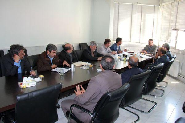 برگزاری جلسه شورای اطلاع رسانی سازمان جهاد کشاورزی استان چهارمحال و بختیاری