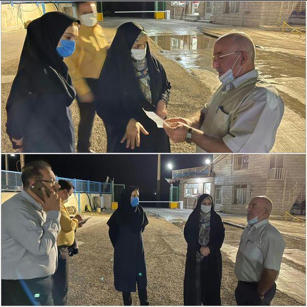 بازدید سرزده رییس سازمان جهاد کشاورزی استان قزوین از کشتارگاههای مرغ استان