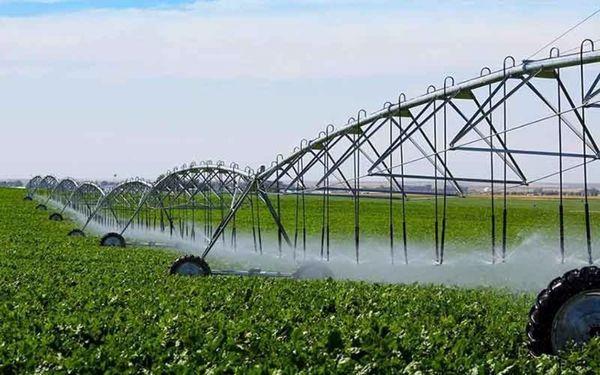 آبیاری نوین در ۴۰۰ هکتار اراضی کشاورزی مهریز اجرا شد