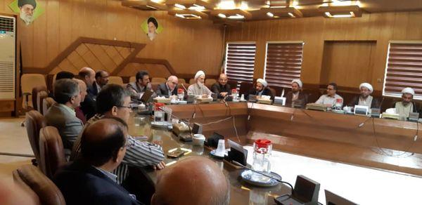 حضور مهندس فولادگر در جمع کارکنان سازمان جهاد کشاورزی استان اصفهان