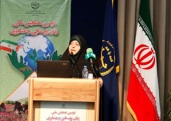 دولت برای بهبودوضعیت زنان روستایی وعشایری  برنامه دارد